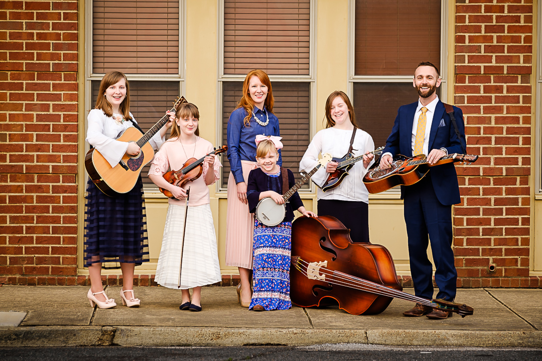 Conservative family bluegrass gospel